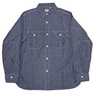 CHAMBRAY DOUBLE SHOULDER WORK SHIRTS